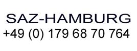 SAZ-Hamburg +49 (0) 179 68 70 764
